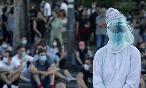 Σερβία - κορονοϊός: Μειώθηκαν αισθητά τα νέα κρούσματα