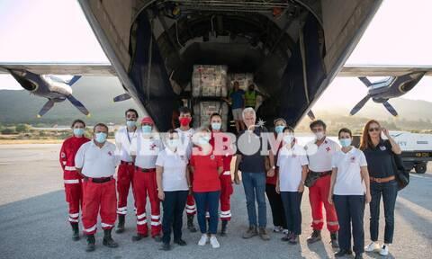 Μυτιλήνη: 500 σκηνές από τον Γερμανικό Ερυθρό Σταυρό για πρόσφυγες και μετανάστες