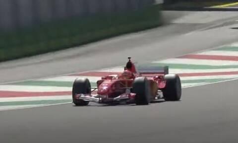 Ανατριχίλα! Ο Μικ Σουμάχερ οδήγησε τη θρυλική Ferrari του πατέρα του