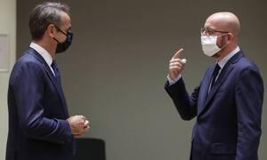 Мицотакис и Анастасиадис обсудят с главой Европейского совета санкции в отношении Турции