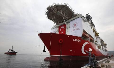 Αδιάλλακτοι οι Τούρκοι: Δύο νέες Navtex για έρευνες του Γιαβούζ - Ποιες περιοχές δεσμεύουν