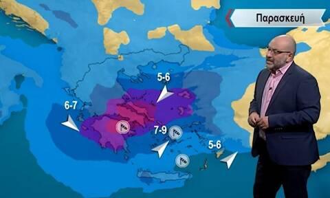 Έρχεται μεσογειακή ύφεση με θυελλώδη χαρακτηριστικά! Ανάλυση Αρναούτογλου