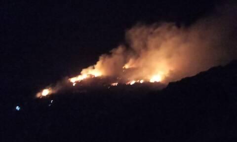 Σάμος: Προσαγωγές από την αστυνομία για την φωτιά κοντά στο ΚΥΤ