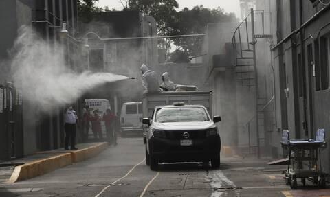 Κορονοϊός στο Μεξικό: 629 θάνατοι και 4.771 κρούσματα τις τελευταίες 24 ώρες