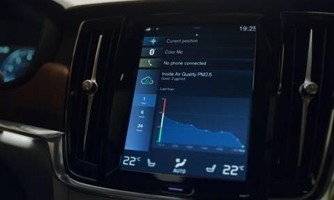 Ο αέρας στο εσωτερικό των νέων Volvo θα είναι απαλλαγμένος από το 95% των μικρο- σωματιδίων