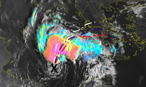 Κακοκαιρία «Ιανός» - Μεσογειακός κυκλώνας: Ποιες περιοχές θα «σαρώσει»