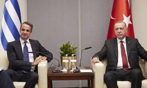 Μητσοτάκης-Ερντογάν: Ανοιχτό ενδεχόμενο για τηλεφωνική επικοινωνία πριν την Σύνοδο Κορυφής