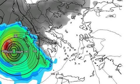 Καιρός: Ο κυκλώνας Ιανός έρχεται και... τρομάζει η σύγκρισή του με τον κυκλώνα Ζορμπά!