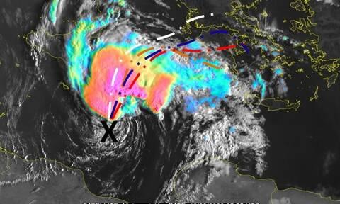 Αλλαξε σε κόκκινη την προειδοποίηση στο έκτακτο δελτίο για τον κυκλώνα η ΕΜΥ