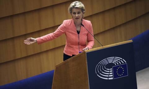 Фон дер Ляйен: Кипр и Греция всегда могут рассчитывать на солидарность Европы