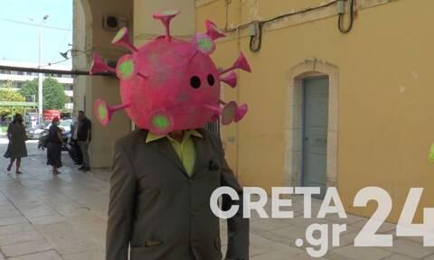 Κρήτη: Ο «κορονοϊός» έκανε ξανά την εμφάνισή του (pics)