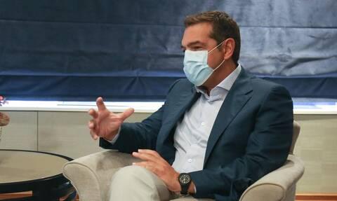 Τσίπρας : «Επιβεβαιώθηκε ο φόβος μας για πρωτοφανή ύφεση»