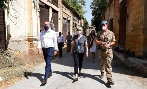 Κύπρος: Την Πράσινη Γραμμή επισκέφθηκε ο Μισέλ – Ποιο μήνυμα έστειλε