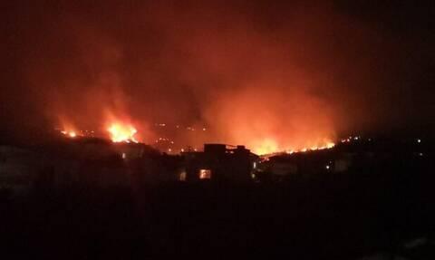 Φωτιά ΤΩΡΑ στην Πάτρα: Δραματικές ώρες στα Συχαινά - Δόθηκε εντολή εκκένωσης