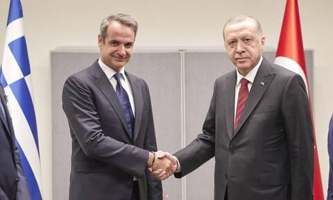 Ελληνοτουρκικά: «Κλειδώνει» η συνάντηση Μητσοτάκη - Ερντογάν