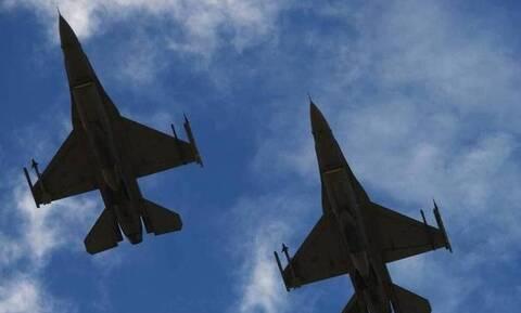 Ελληνικά F-16 συνόδευσαν ξανά αμερικανικά βομβαρδιστικά B-52