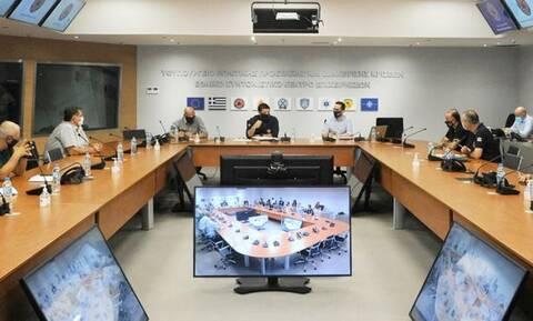 Κακοκαιρία Ιανός: Έκτακτη σύσκεψη στην Πολιτική Προστασία