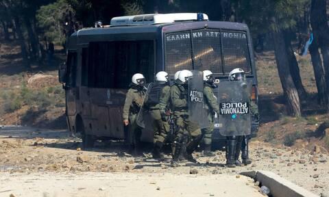 Κορονοϊός: Θετικός άνδρας των ΜΑΤ στη Μυτιλήνη
