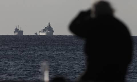 Αποκλιμάκωση: Αποχωρούν τα πλοία των Τούρκων και των Ελλήνων από την Ανατολική Μεσόγειο