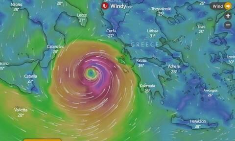 Καιρός LIVE: Συναγερμός - Ο Ιανός «κύκλωσε» την Ελλάδα - Αυτές τις περιοχές θα «χτυπήσει»