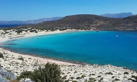 Симос острова Элафониссос вошел в десятку самых красивых пляжей мира