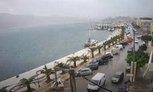 Κυκλώνας «Ιανός» LIVE CAMS: Ξεκίνησε - «Σφυροκοπά» ΤΩΡΑ Ζάκυνθο και Πελοπόννησο