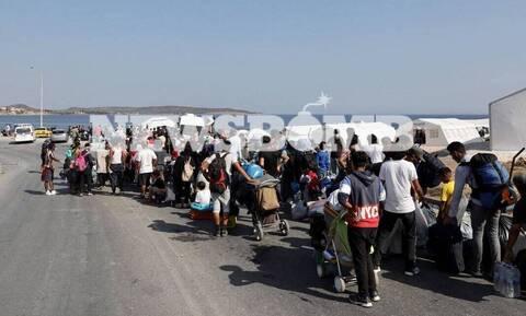 Μόρια: 77 μετανάστες θετικοί στον κορονοϊό - Συνεχίζονται τα τεστ στο Καρά Τεπέ