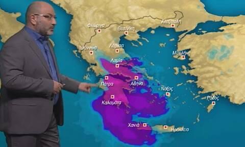 Προσοχή τις επόμενες ώρες! Η προειδοποίηση του Αρναούτογλου για τον κυκλώνα (Vid)