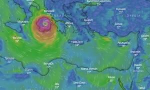 Κυκλώνας «Ιανός»: Νέα δεδομένα! Το καλό και το κακό σενάριο - Ποιες περιοχές θα πληγούν
