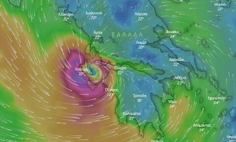 Κυκλώνας «Ιανός» LIVE CAMS: Δείτε ζωντανή εικόνα από το «σφυροκόπημα» της κακοκαιρίας