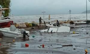 «Ιανός»: Αλλάζει πορεία ο κυκλώνας - Πού θα χτυπήσει τις επόμενες ώρες (vid)