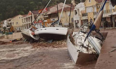 Κυκλώνας «Ιανός»: Συγκλονίζουν οι εικόνες καταστροφής σε Ζάκυνθο, Κεφαλονιά και Ιθάκη