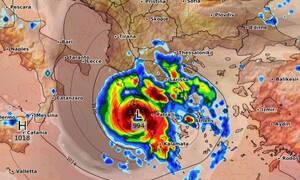 Κυκλώνας Ιανός! Νέα δεδομένα για την πορεία του! Πού θα χτυπήσει τις επόμενες ώρες