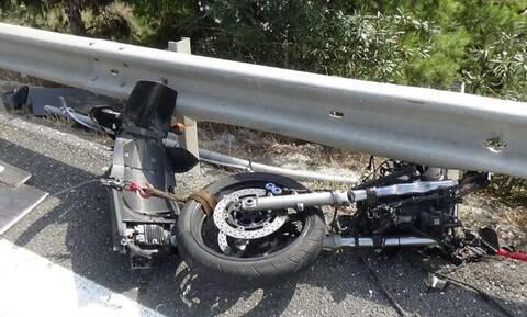 Τραγωδία στην Εγνατία Οδό με μοτοσικλετιστή: Προσέκρουσε στις μπάρες και σκοτώθηκε