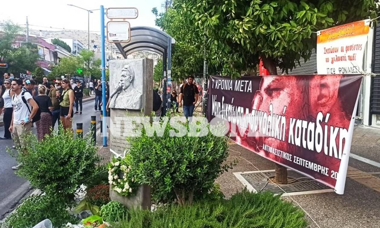 Παύλος Φύσσας: Συγκέντρωση για την επέτειο δολοφονίας του στο Κερατσίνι (pics)