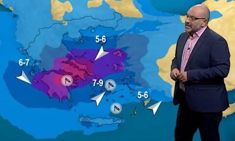 Προειδοποίηση Αρναούτογλου για τον κυκλώνα: Μεγάλη προσοχή το επόμενο 9ωρο...
