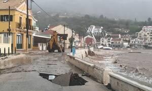 Κακοκαιρία Ιανός: Σε κατάσταση έκτακτης ανάγκης Κεφαλονιά, Ιθάκη και Ζάκυνθος