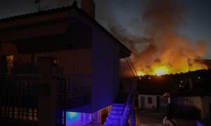 Μεγάλη φωτιά ΤΩΡΑ στο Ηράκλειο