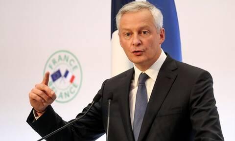 Γαλλία: Θετικός στον κορονοϊό ο υπουργός Οικονομικών Μπρουνό Λεμέρ