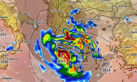 Τι κρατάει για το φινάλε του ο κυκλώνας Ιανός; H πορεία του προς το... αντίο!