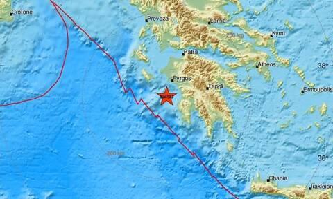 Σεισμός δυτικά της Πελοποννήσου (pics)