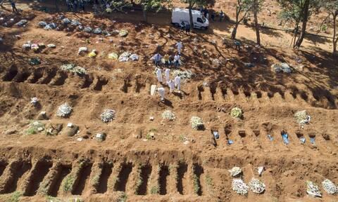 Κορονοϊός στη Βραζιλία: 858 θάνατοι και σχεδόν 40.000 κρούσματα σε 24 ώρες