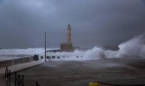Κακοκαιρία: Οδηγίες για τον «Ιανό» από την Πολιτική Προστασία της Περιφέρειας Κρήτης