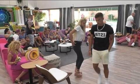 Big Brother: Χαμός στο σπίτι - Παίκτης απείλησε να χτυπήσει γυναίκα (vids)