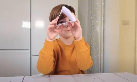 Μαθαίνοντας τις ιδιότητες των σχημάτων:Ένα διασκεδαστικό πείραμα για παιδιά