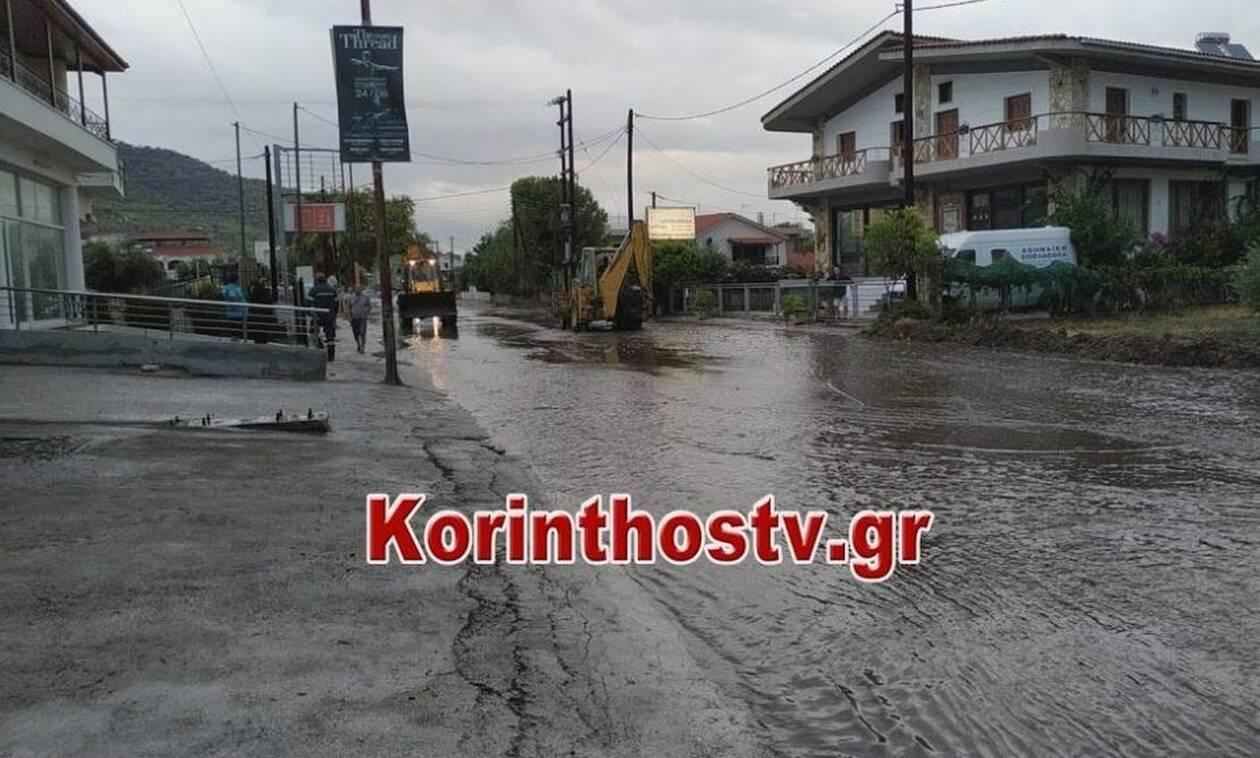 «Ιανός» - Νίκας στο Newsbomb.gr: Πλημμύρισαν πάνω από 25 σπίτια στα Λουτρά της Ωραίας Ελένης