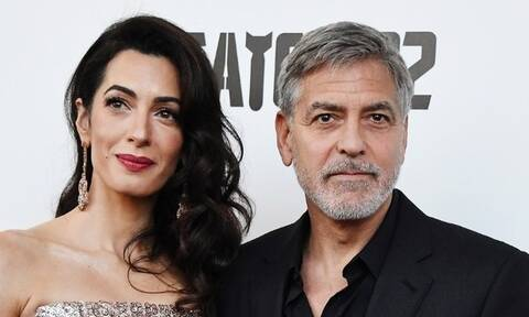 Τζορτζ και Αμάλ Κλούνεϊ στη δίκη του Ρουσεσαμπαγκίνα