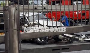 Χάος στον Κηφισό - Τροχαίο ατύχημα και μποτιλιάρισμα χιλιομέτρων (pics)