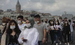 Τουρκία - Κορονοϊός: Σταθερή αύξηση καταγράφουν τα περιστατικά μόλυνσης