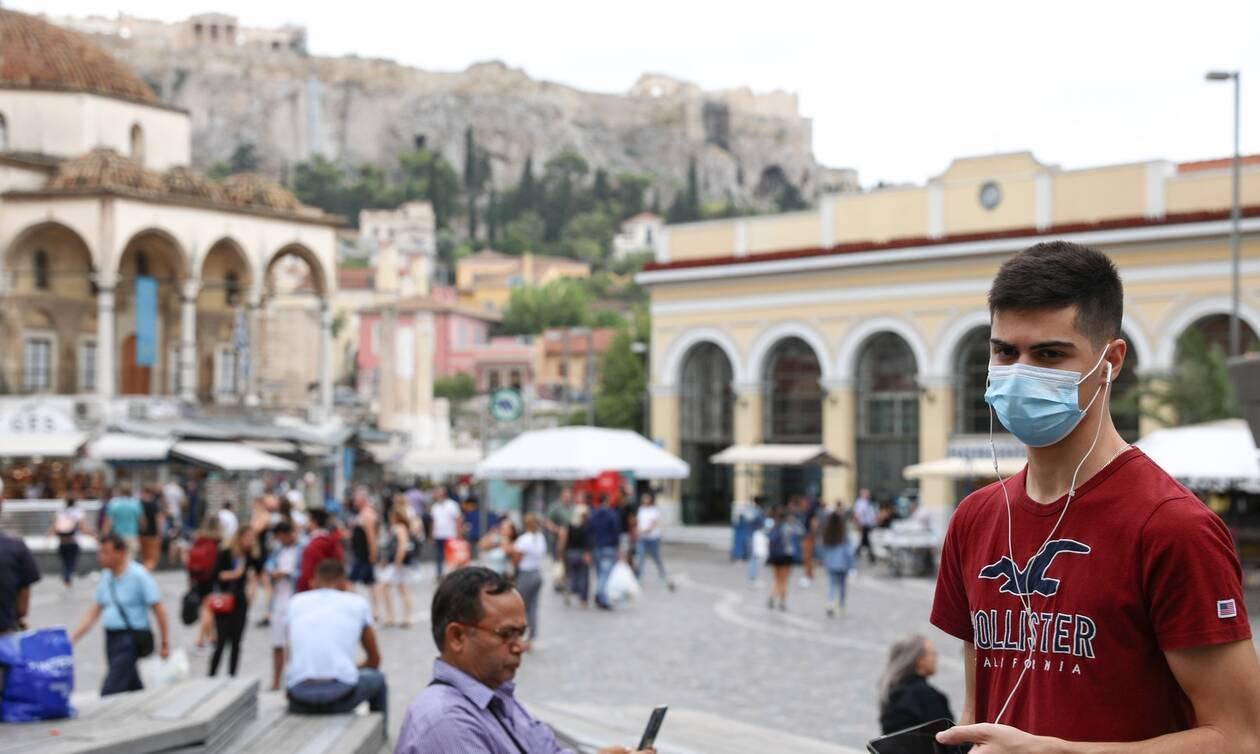 Κορονοϊός: Δεν λέει να «ξεκοκκινίσει» η Αττική - 99 νέα κρούσματα στην πρωτεύουσα, 1 στο Αγιο Όρος